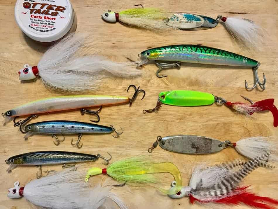 best baits for striped bass