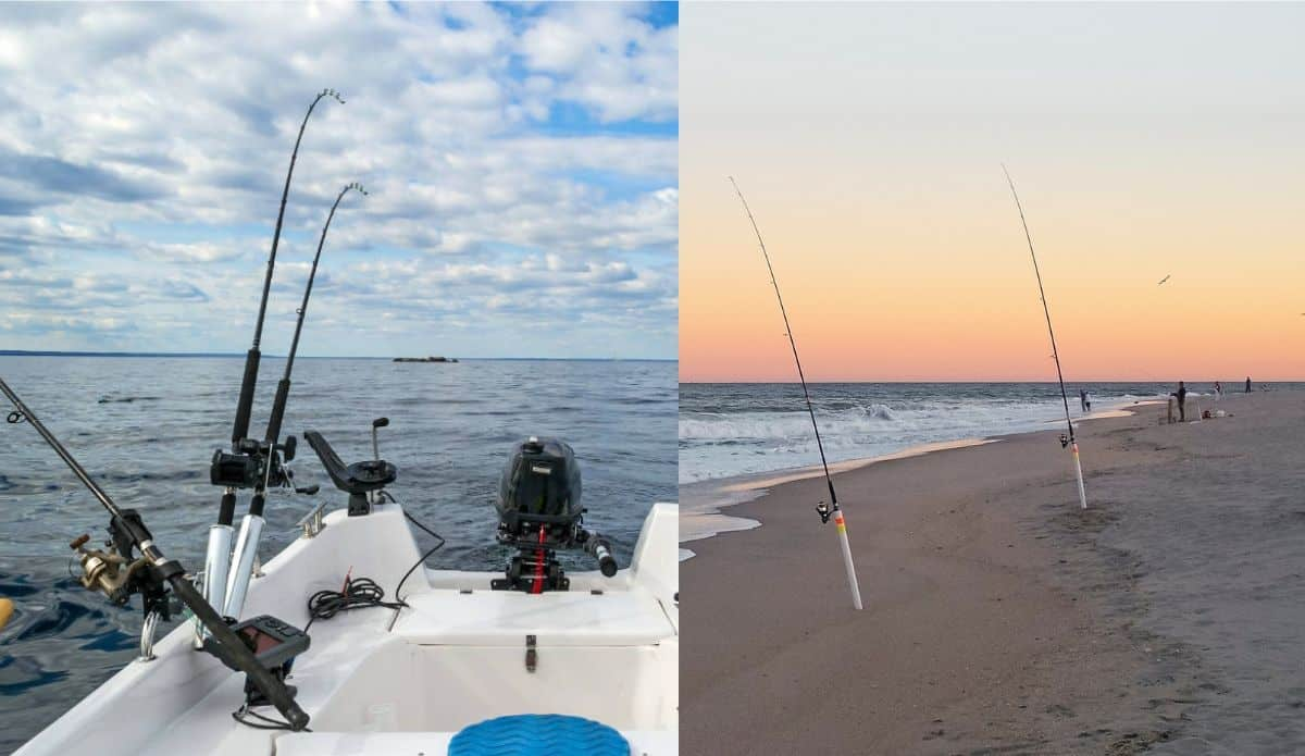 What Is The Difference Between Trolling & Surf Fishing?
