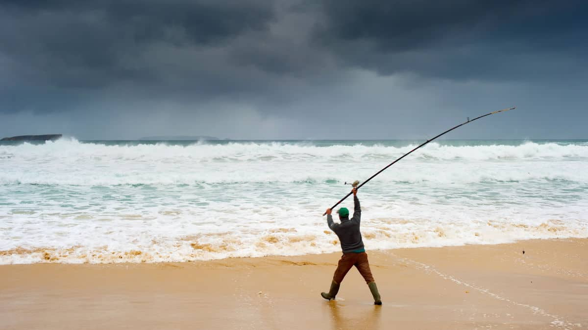Is Surf Fishing Good In The Rain