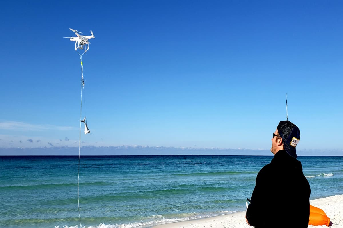 Is Surf Fishing With Drone Legal In California