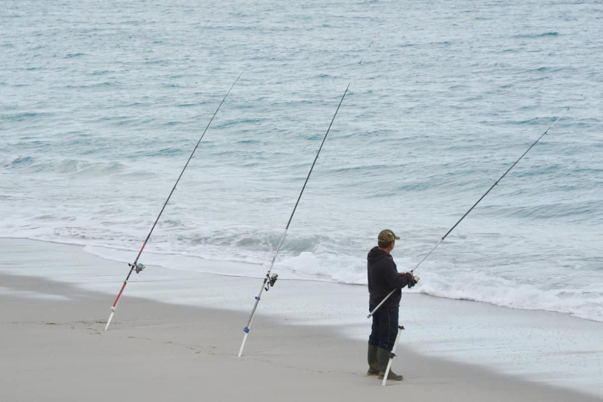 Best Rod Size for Surf Fishing